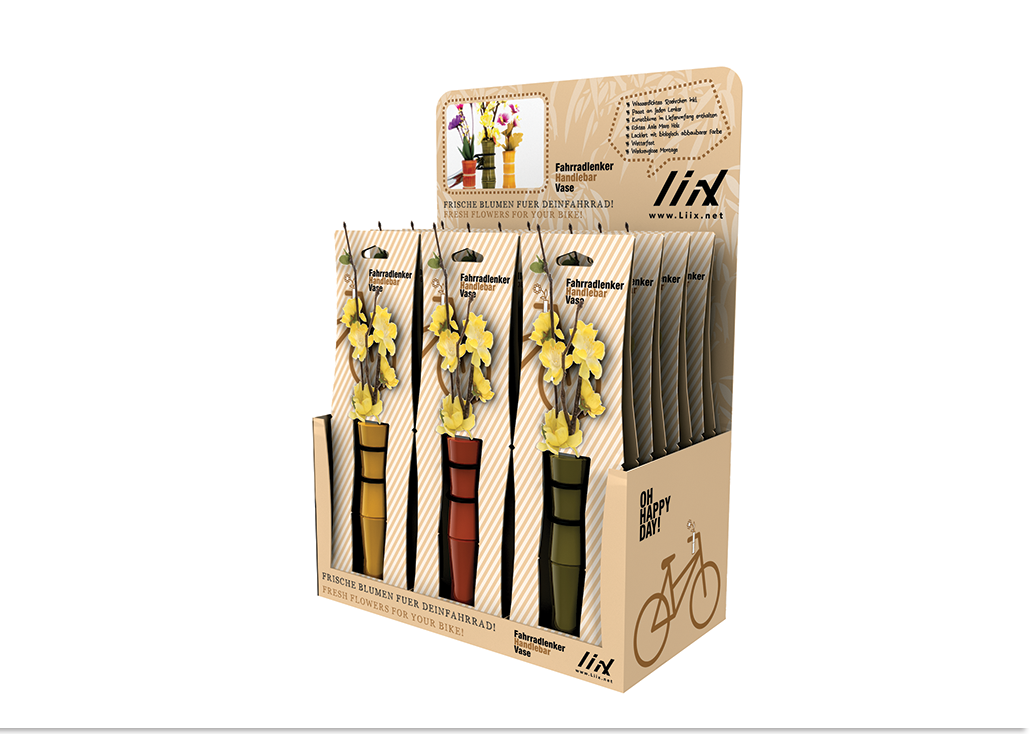 Liix Handlebar Vase Table Display