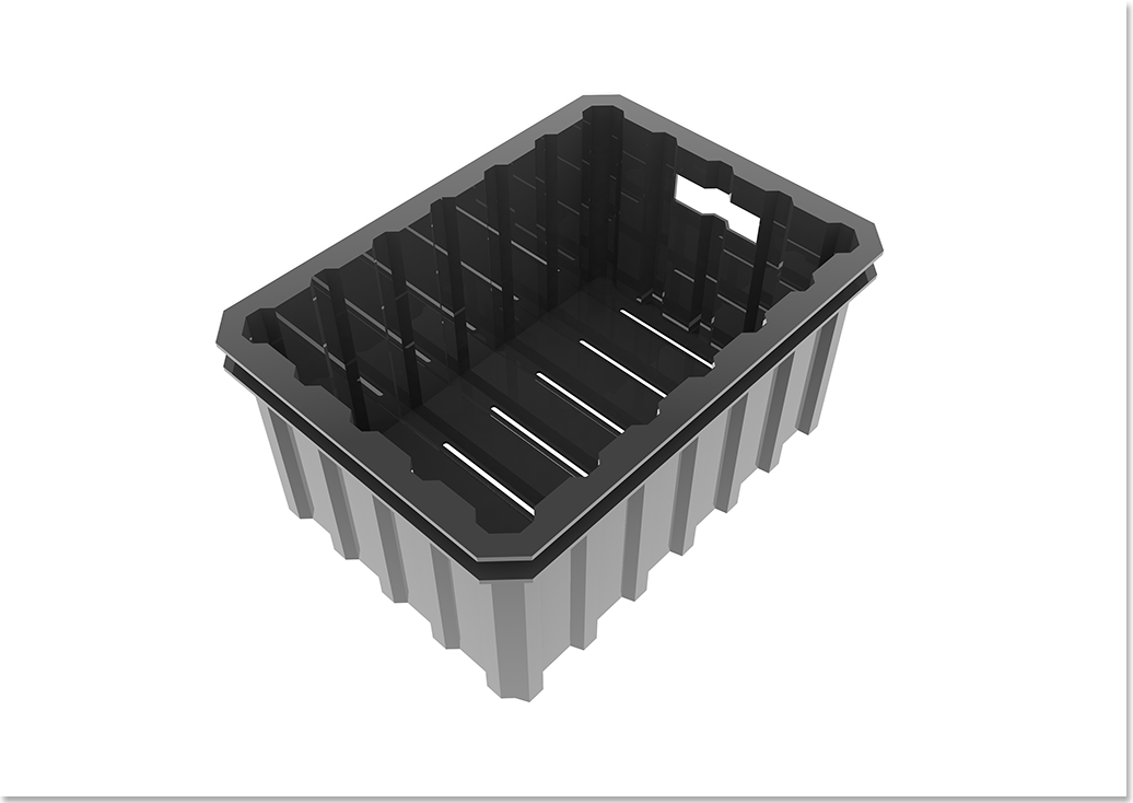 Liix Crate Container Tray Top