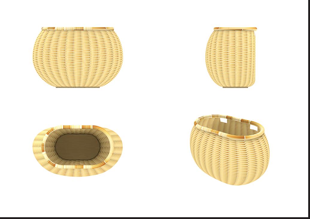 Liix Wicker Basket Type C Comp